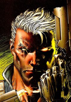 Cable (Nathan Christopher Charles Summers) by Marc Silvestri
