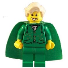 Gilderoy Lockhart (Green) - LEGO Harry Potter Minifigure