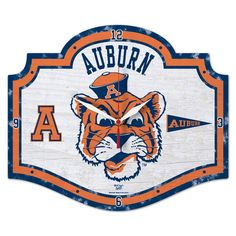 Wincraft Auburn Tigers Vintage High Definition Clock