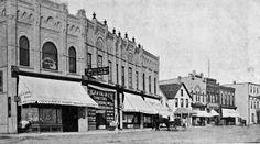 Crescent Avenue, Souris, Manitoba 1903 History Historic Historical Photos Photographs Pics Pictures