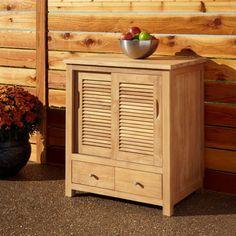 Teak Outdoor Kitchen Cabinet Doors