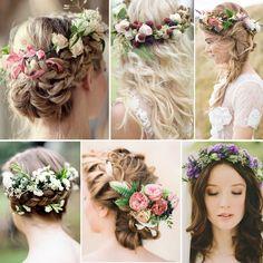 Gelin saçlarında ilkbaharın esintisi hissedilmeye başladı. Gelin saçınızda çiçek bahçelerinden ilham almaya ne dersiniz?