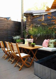 Beautiful Small Patio.