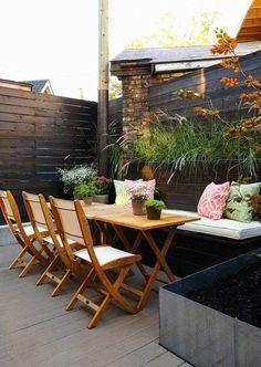 Profitez simplement de votre terrasse.