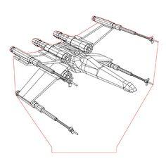 X-Wing illusion lamp plan vector file for CNC - Cheap Pergola, Diy Pergola, Pergola Kits, 3d Illusion Art, Star Wars Lamp, Star Wars Bedroom, Laser Cutter Projects, Pergolas For Sale, Pergola Attached To House