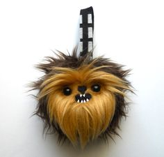 Chewie Star Wars Christmas/Holiday Ornament by michellecoffee, $14.00
