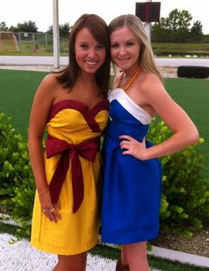 FSU and UF Homemade Game Day Dresses