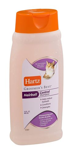 Hartz 12102 15 Oz Groomers Best® Hairball Control Cat Shampoo >>> Read more at the image link. (This is an affiliate link and I receive a commission for the sales)