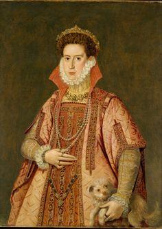 Alonzo Sánchez Coello - Portrait of a Woman