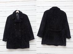 1980s A Vintage Faux Fur Coat by Folio / Short by CoverVintage, $49.00
