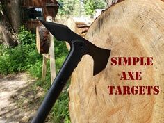 Throwing Knife Target, Knife Throwing, Outdoor Entertaining, Outdoor Fun, Redneck Games, West Springfield, Throw A Party, Craft Party, Home Depot