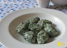 Gnudi, ravioli senza pasta (ricetta toscana). Ricetta passo passo per preparare gli gnudi ricotta e spinaci con burro e salvia (anche senza glutine)
