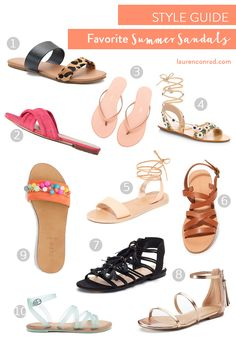 34eebd56203f Tuesday Ten  Summer Sandal Style Guide