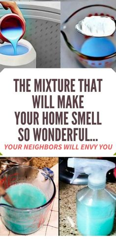THE MIXTURE THAT WILL MAKE YOUR HOME SMELL SO WONDERFUL… YOUR NEIGHBORS WILL ENVY YOU!! Try this !!!