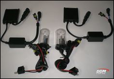 DDM Tuning 35W and 55W HID Kits. 35w 8000 9007 hi/low bulb 35w 3000 h11 bulb mounting brackets for both.