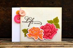 The Sweet Life Stamp Set: Papertreyink