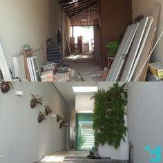 Antes e Depois, Projeto de Reforma Residência M+G, Goiânia-Goiás. #IssoéFORS #Fors #Ideias #Arquitetura