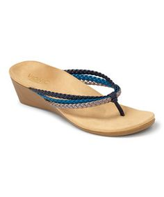 71d90ca60fbd Blue Ramba Sandal by Vionic with Orthaheel Technology