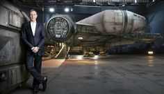 Disney CEO Bob Iger leans against Industrial Light & Magic's Millennium Falcon for his Fortune Magazine profile. Ten years from now, what will be the better box office earner for Disney, the Marvel Cinematic Universe or the Star Wars franchise?