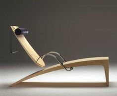 """""""Flying float"""" - Deckchair with adjustable back"""