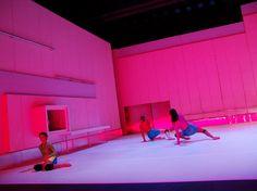 Stagedesign for Louder, Dance in Freiburg, Germany Sebastian Hannak