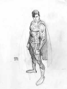 038 :: Superman, from the New 52, by Andrew Robinson Comic Art ✤ || CHARACTER DESIGN REFERENCES | キャラクターデザイン | çizgi film || ✤