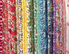 Liberty Tana Lawn: Rainbow Stash Pack: 25 pieces – DuckaDilly