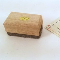Mini Chalkboard Eraser by PhotographyByRoger on Etsy