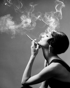 During the roaring 20's women were finally allowed to do whatever they want such as smoking ciggerettes and drinking.