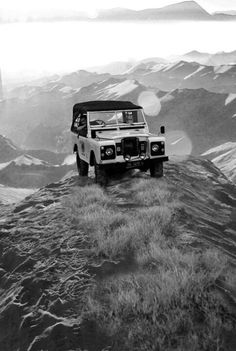 On top of the world with a #LandRover