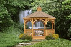 Sweet spot for a #gazebo! amishgazebos.com
