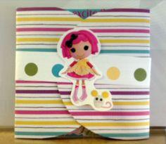 Lalaloopsy  Handmade Birthday invitations by Cre8tiveMindsMiami, $25.00