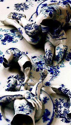 She's made of porcelain.
