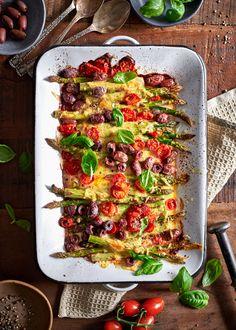 Vegetable Pizza, Pasta Salad, Feta, Parsa, Vegetables, Ethnic Recipes, Crab Pasta Salad, Vegetable Recipes, Veggies