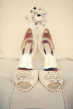 Wedding Day #Shoes I When Pigs Fly Events I #bridalshoes