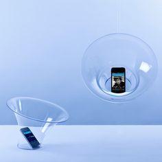 This is so dope. Brilliant idea: a passive loudspeaker for smartphones