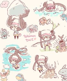 Image discovered by pudim Find images and videos about pokemon on We Heart It - the app to get lost in what you love. Pokemon Mew, Fan Art Pokemon, Pokemon Rosa, Pokemon Waifu, Pokemon Manga, Black Pokemon, Pokemon Ships, Pokemon Comics, Pokemon Funny