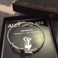 Alex &Ani mermaid bangle Great condition! Only worn a handful of times! Open to reasonable offers, no trades!! Alex & Ani Jewelry Bracelets