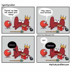 The Awkward Yeti comics- thyroid 2