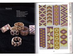 Peyote patterns for a beautifull ring