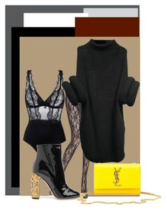 Styling for loose fall sweater Fall Sweaters, Yves Saint Laurent, Polyvore, Style, Fashion, La Perla, Swag, Moda, Fashion Styles