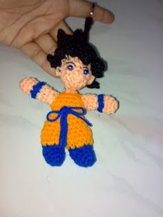 Amigurumi Dragon Ball Goku : Dragon Ball on Pinterest Goku, Amigurumi and Dragon Ball Z