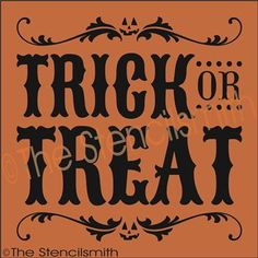 Halloween fall stencils on pinterest stencil trick or for Trick or treat pumpkin template
