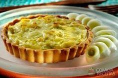 Receita de Tortinha de alho poró em receitas de tortas salgadas, veja essa e outras receitas aqui!