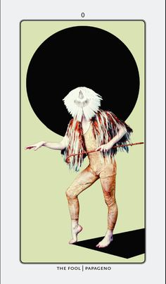 The Fool Major Arcana Tarot Card | EROTOME Deck | Oracle Art | Divination