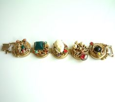 "Amazing & Very Rare Unsigned Selro ""Devil & Dragon"" Bracelet - SOLD"