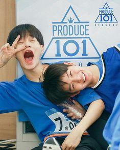They are still kids Please don't change, don't let words take away your smile, please Bae Jinyoung Lee Dae Hwi BNM Produce 101 K Pop, Bae Jinyoung Produce 101, Wattpad Authors, Swing, All Meme, Produce 101 Season 2, Lee Daehwi, Kim Jaehwan, Ha Sungwoon