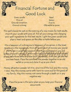 Witch's Lucky Candle Spell, Book of Shadows Spell Page, Wicca, Witchcraft, Pagan Magick Spells, Wicca Witchcraft, Hoodoo Spells, Wiccan Rituals, Wiccan Witch, Candle Spells, Good Luck Spells, Good Luck Symbols, Wiccan Books