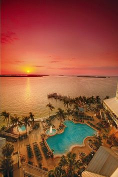 #Sunset at the Sanibel Harbour #Marriott Resort & Spa on Florida's Southwest Gulf Coast.