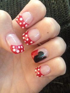 Amazing tipped nails. Love the feature!